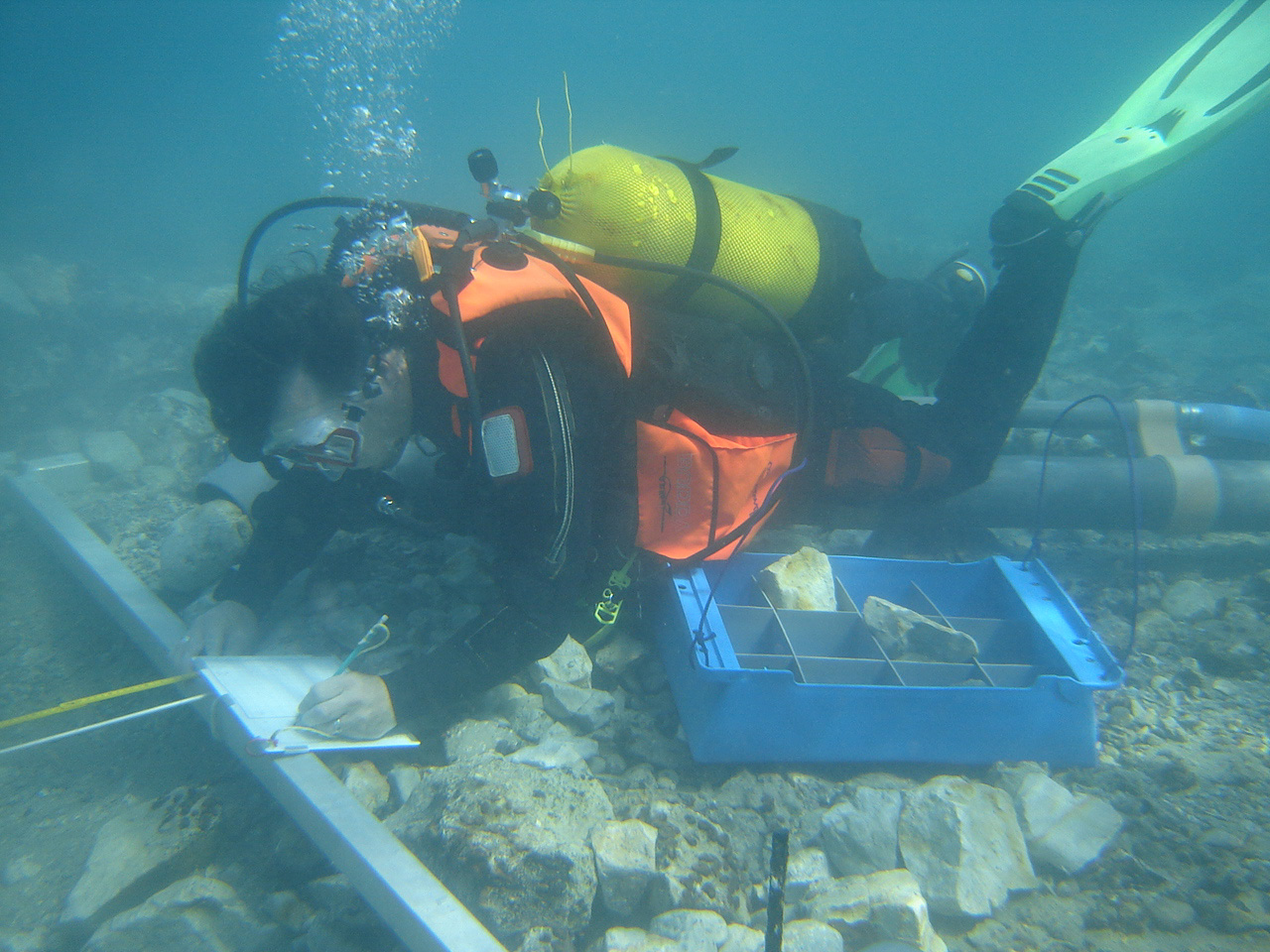 UNESCO underwater field school in Croatia